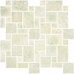 Crema Polished Versailles Mosaics M12VERS