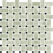 Argento Polished Basketweave Mosaics M12BW
