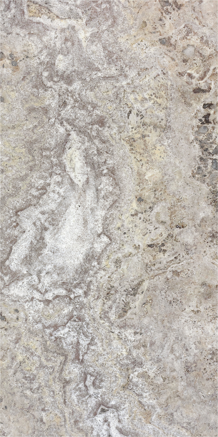 Silver Veincut Polished Floor/Wall Tile 12x24