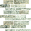 Silver Veincut Polished Random Stack Mosaics RSP12