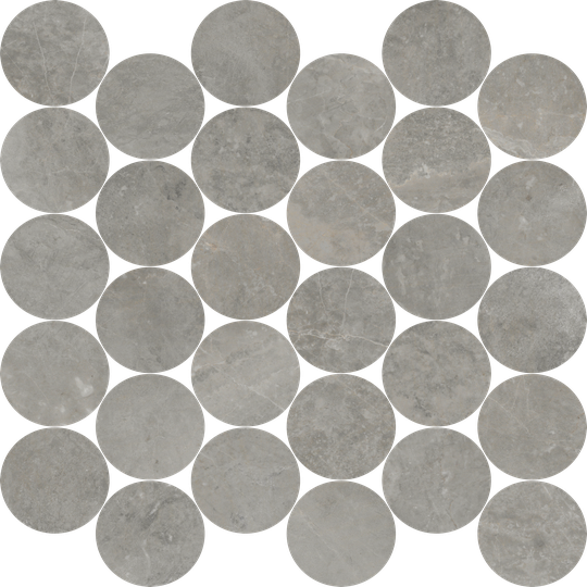 Loft 30 Piece Circle Mosaics M2.5CIR