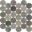 Estate 30 Piece Circle Mosaics M2.5CIR