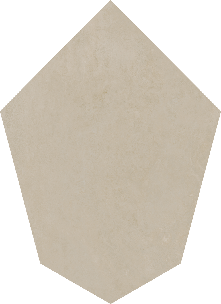 Tribeca Taupe Floor/Wall Tile (Waterjet Cut) 21.5x29.5