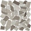 Rustic Birch Flat Flat Pebble Mosaics 12x12